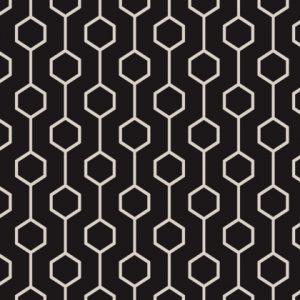 Black & White Simply Shapes 13931
