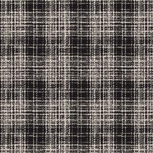 Black & White Woven Textile 13934