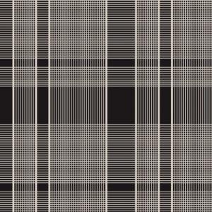 Black & White Woven Textile 13936