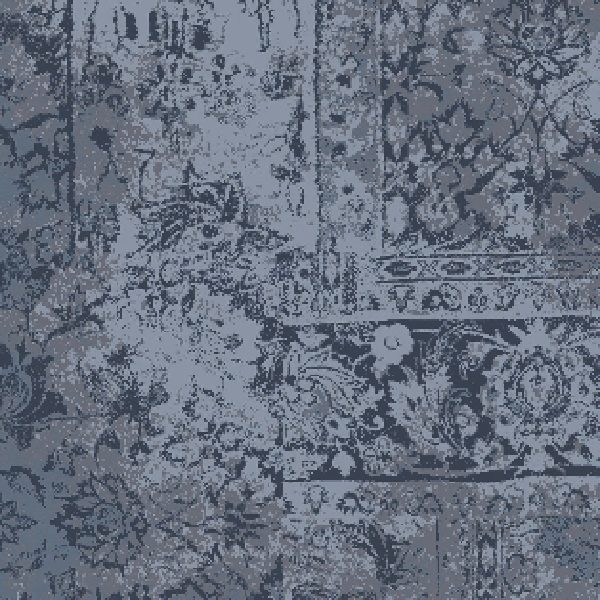Vintage Style Blue Sprit 17059-a02