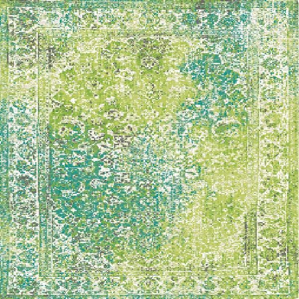 Vintage Style Summer Time rug17091-a04